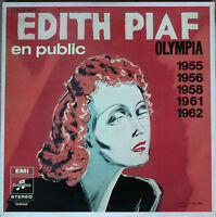 EDITH PIAF EN PUBLIC OLYMPIA 1955/56/58/61/62 BIEM 33T  3 LP