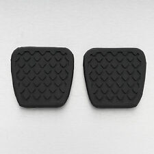 2X Honda Brake Clutch pedal pad rubber cover Civic Accord CR-V Prelude Acura