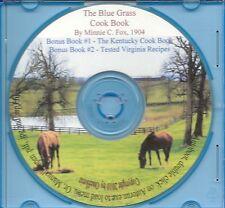 The Blue Grass Cook Book 1904 - By Minnie C. Fox