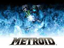 Super Metroid  - Samus 117 -   Huge Poster  22 inch  x 34 inch ( Fast Shipping )