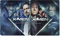 X-MEN STEELBOOK La Collezione in 2 TRILOGIE (6 BLU-RAY) Hugh Jackman, J Lowrence
