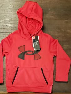 Under Armour Boys Youth Xtra Small ColdGear Hoodie NWT