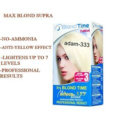 Max Blond Supra Hair Bleaching Lightening Kit  Professional result  Ammonia FREE