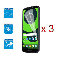 For Motorola Moto G6 Play 5.7 inches LCD Screen Protector Guard Film Foil x 3