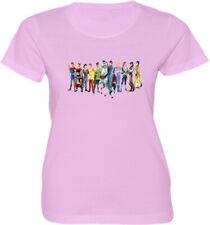Disney Ten Princes Womens Juniors Girls Video Movie Anime Cartoon T-Shirt
