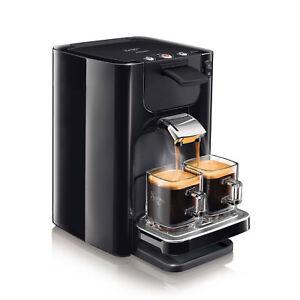 Cafetière Philips Machine à Café à Dosettes Souples SENSEO Quadrante Neuf - NOIR