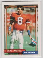 1992 Topps Football Denver Broncos Team Set (24 Cards)