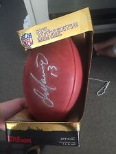 Authentic NFL Game Ball signed by Dan Marino with box