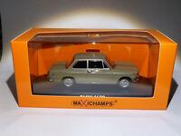 BMW 1600 de 1968 beige au 1/43 de Minichamps / Maxichamps 940022100