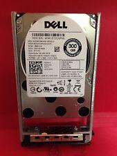 """Dell Western Digital 300GB 10K 6Gbps SAS SFF 2.5"""" HotPlug HDD WD3001BKHG CWHNN *"""