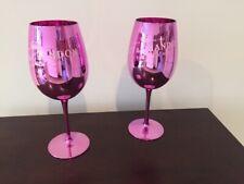 Moet & Chandon Champagner Glas 2 Gläser Rosa NEU