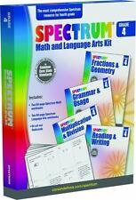 Spectrum Math and Language Arts Kit, Grade 4 Common Core Standards