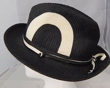 b62a7910be8 Elope 100% Paper Black w White Accent Hat Sz M
