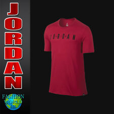 Nike Men'S Size Medium Air Jordan Iconic Tee Shirt Red