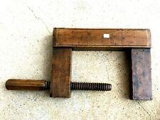 n° 7 ) old tool, outil ancien, serre joint de menuisier, ébéniste