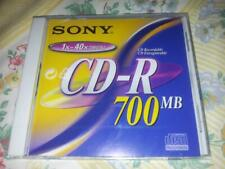 Sony CD-R 700MB Recordable CD. CD-R CD Recordable