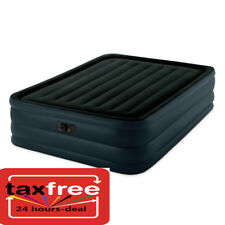 """Intex Raised Inflatable Air Bed Mattress Airbed Blow Up Pump Queen Size 22"""" NEW"""
