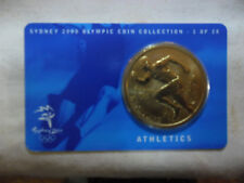 Australian 2000 Olympic Games Athletics $5 coin UNC in protective card