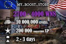 World Of Tanks (WOT) 10MILL. 200.000XP UNICUM PLAY | 2-3 days (not bonus code)
