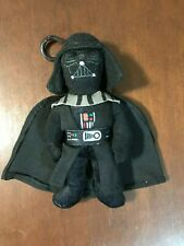 Star Wars Darth Vader Stuff Plush Toy Soft Zipper Bag Clip 7''