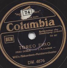 Orchestra WILL GLAHE: carburante + Toreo fino