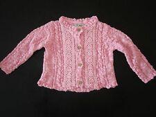 Next Pink Lace Cardigan, Size: 9-12 Months