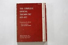 The Complete Official Triumph TR7 1975-77 Driver's Handbook, Repair Manual