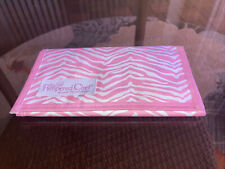 New Pampered Chef Pink Zebra Coupon Holder Organizer * New w/o Tag or Packaging