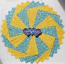 Calico Floral  Charm Squares 50 pk 100% Cotton Fabric