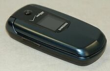 Samsung Smooth SCH-U350 Verizon Flip Prepaid Mobile Cell Phone BLUE bluetooth -B