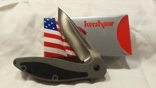 Kershaw 1745 NRG2 - Discontinued - USA - NIB - Large Size ENER-G2 pocket knife