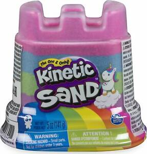 Kinetic Sand Rainbow Castle Container Mixed Colours