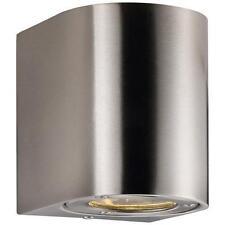 Nordlux LED Wandleuchte Canto 2x3w Edelstahl mit Lichtfilter