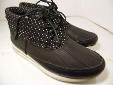 "Gourmet ""QUADICI TX"" black/white dots Raining sneakers Womens Sz 9.5"