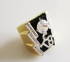 (size 10,  1 oz.) THE AMERICAN TRILOGY TCB RING -  Elvis Tribute Artist