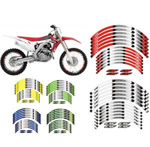 "FOR Honda CRF 250R 03-2021 CRF 450R 2002-2021 ""21 ""19 RIM WHEEL STRIPES STICKERS"