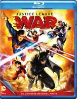 JUSTICE LEAGUE: WAR NEW BLU-RAY
