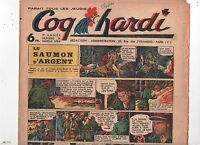 COQ HARDI n°24 (1946). Marijac, Liquois, le Rallic, Cazanave...