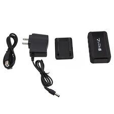 7 Ports Hi-Speed USB 2.0 Hub +Power Adapter for PC Laptop Mac Black