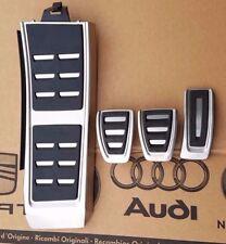 Audi A6 4G C7 original RS6 Pedalset S-Line Pedale S6 Pedalkappen Fußstütze