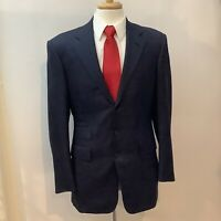Ralph Lauren Purple Label  2pc Blue Suit 38R-MADE IN ENGLAND Pure Wool
