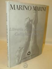 ARTE SCULTURE CATALOGO - Umberto Apollonio: Marino Marini - Del Milione 1953