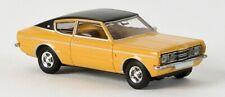 BREKINA Ford Taunus GXL Coupé (Orange) 1/87 HO Scale Plastic Model NEW, RARE!