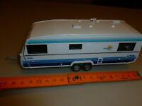 die cast  1/43 cararama  1/43 roulotte caravan big polar 2005