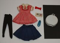 Vintage Deluxe Reading PENNY BRITE Lot Kitchen Dress Round Train Case & More