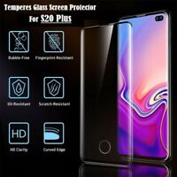New Fingerprint Scanner Compatible Screen Protector For Samsung Galaxy S20 Plus