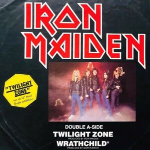 "IRON MAIDEN . twilight zone 12"" Maxi IMPORT 1981 Metallica AC/DC Slayer Megadeth"