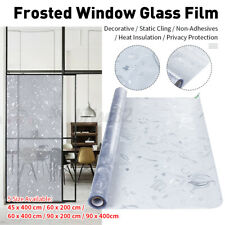 Window Glass Film Static Cling Cover Frosted Sticker Home Decor Waterproo