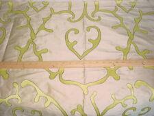 Dedar Milano NONCHA Nonchalante Citron Beige Silk Drapery Upholstery Fabric