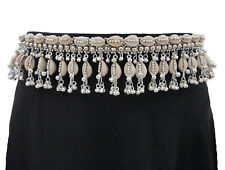 Tribal Belly Dance BELT Kuchi Ethnic Banjara Cowrie Shell Costume Waist Jewelry